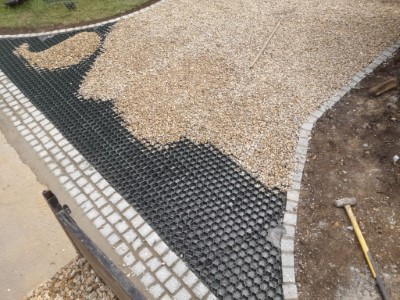 Gravel Stone Driveway in Bedworth With Stabiliser