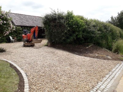 New Gravel Driveway in Bedworth