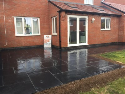 Porcelain Patio in Bedworth
